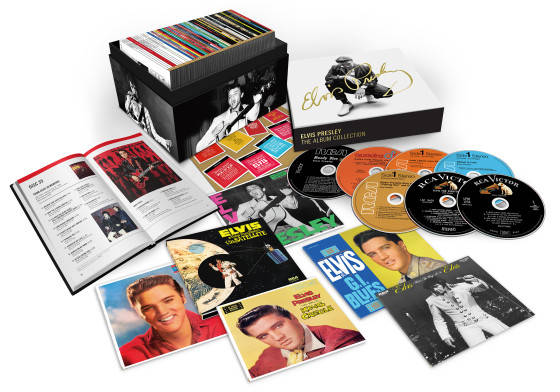 RCA/LEGACY RECORDINGS SET TO RELEASE ELVIS PRESLEY – THE ALBUM COLLECTION