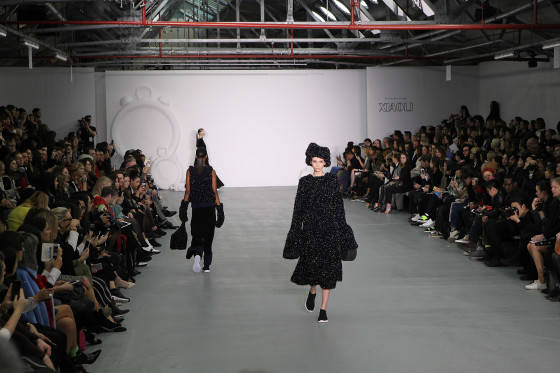 Mercedes-Benz Presents Xiao Li AW 2016 Collections - Arrivals - London Fashion Week