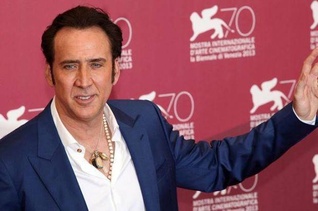 """NICOLAS CAGE TO DIRECT AND STAR IN  """"VENGEANCE: A LOVE STORY"""""""