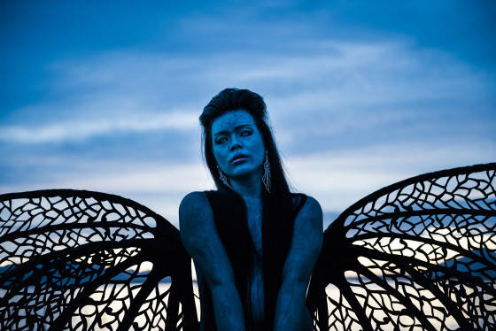 "Bhenji Ra, Justin Shoulder Photography:  Gregory Lorenzutti for ""Ex Nilalang"", 2015"