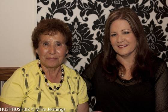 Mama  Rosaria Casella and Janet Lynch