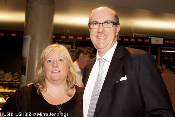 Jo Turner and Craig Turner