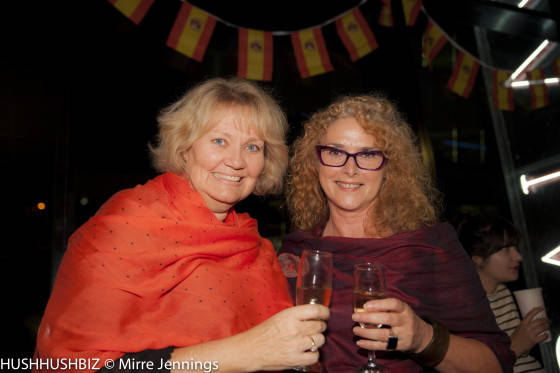Leah Martens and Gayle Forbes