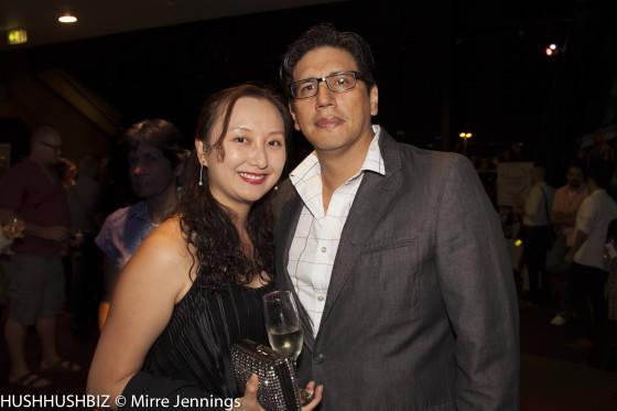 Linda Leung and Carolos Arevalo