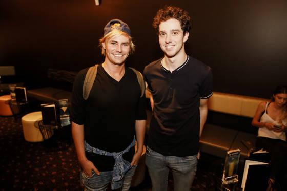 Ollie McCormack and Jono Symon