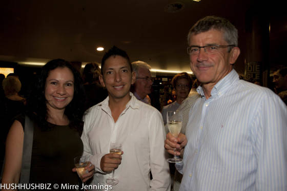 Paula Calvo, Bruno Deza and John Harris