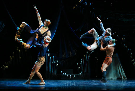 Queensland Ballets Midsummer Nights Dream -  Company Dancers. Photo David Kelly