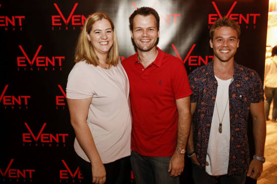 Sarah, Mitch and Lincoln Lewis