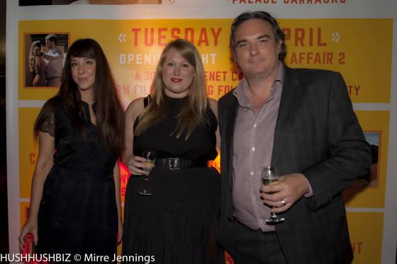 Stephanie Zeccola, Jade O'loughlin and Anthoy Zeccola