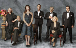 INTRODUCING THE CAST OF 'MY FAIR LADY' AT THE SYDNEY OPERA HOUSE