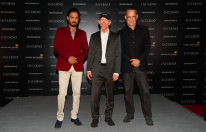 TOM HANKS STEPS OUT IN SINGAPORE FOR 'INFERNO'