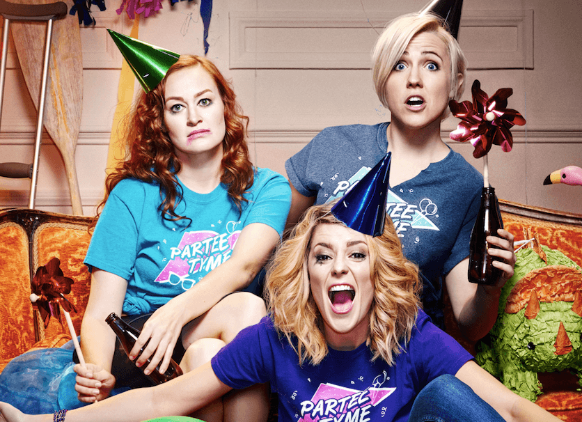 GRACE HELBIG AND MAMRIE HART ARE 'DIRTY 30'