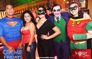 SUPERHERO'S KICK OFF THE PARTY AT EAST BROADBEACH