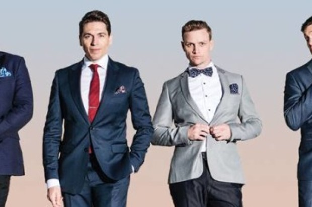 AUSTRALIA'S LEADING MEN INVITE YOU TO SWING ON THIS AT QPAC