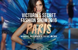 THE ANGELS ARE LANDING ON NINE VICTORIA'S SECRET FASHION SHOW 2016