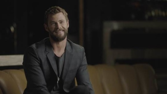 SPEND A WEEK WITH CHRIS HEMSWORTH