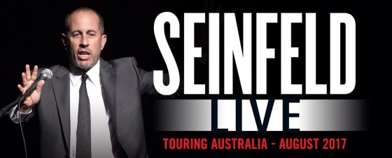 Comedy Master Jerry Seinfeld Set For Australia