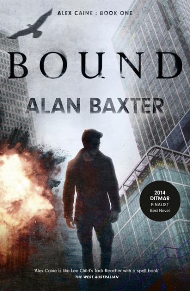 Book Review :Bound by Alan Baxter