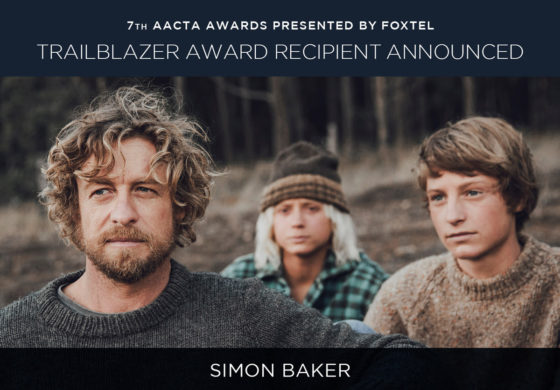 SIMON BAKER TO GET TRAILBLAZER AWARD AT ACCTA 2017