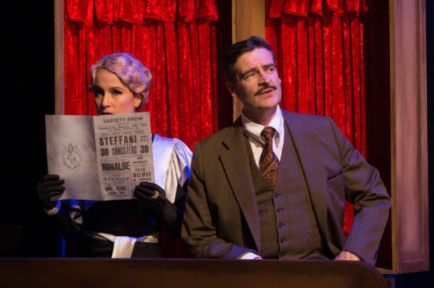 REVEIW ON CENTRE STAGE OF: THE  39 STEPS