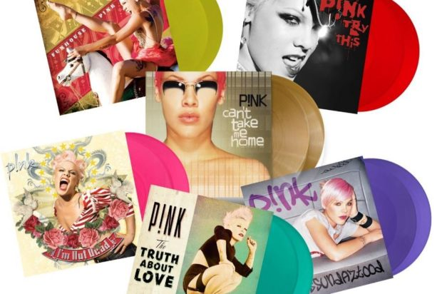 Legacy Records to Release a P!NK Wave of New Vinyl!