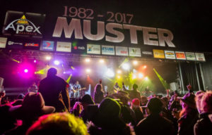 GYMPIE MUSIC MUSTER BIG EVENT FOR 2018
