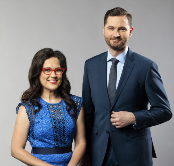 Charlie Pickering and Annabel Crabb to host show