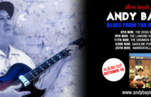 ANDY BAYLOR TO TOUR WITH NEW ALBUM