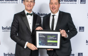 PRODUCER TIM McGAHAN RECEIVES BUSINESS PERSON OF THE YEAR