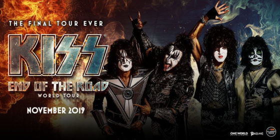 KISS END OF THE ROAD TOUR 2019
