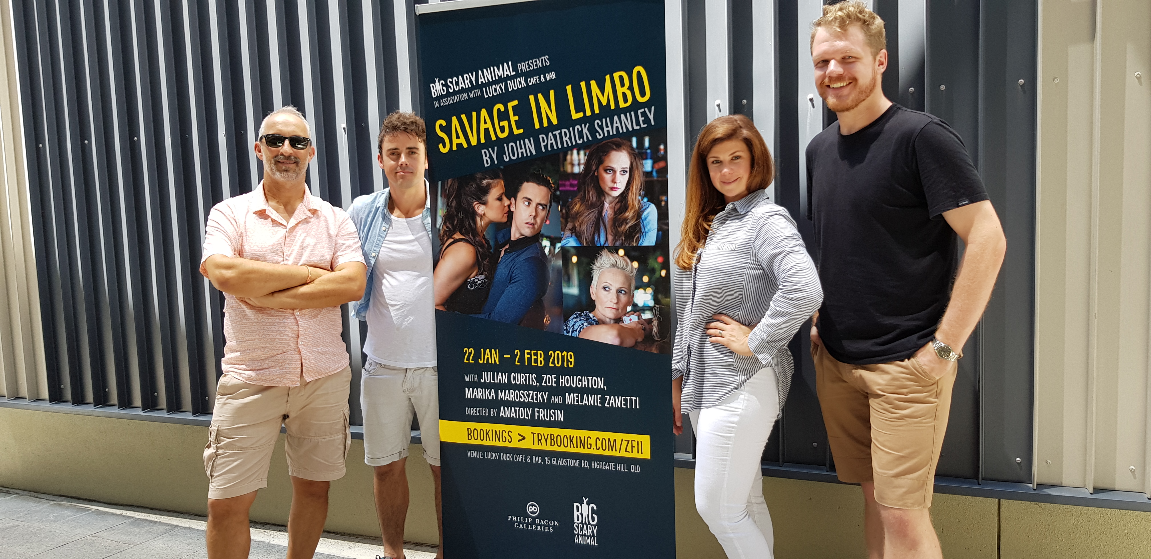THEATRE COMPANY BIG SCARY ANIMAL KICKS OFF WITH NEW PLAY SAVAGE IN LIMBO