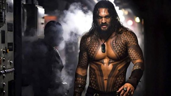 AQUAMAN KEEPS RISING AT  THE GLOBAL  BOX OFFICE