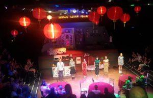 SINGLE ASIAN FEMALES RETURNS TO LA BOITE