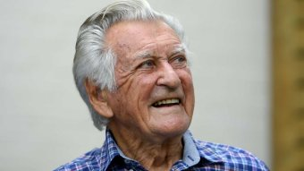 BOB HAWKE  FAREWELLS  AT 89