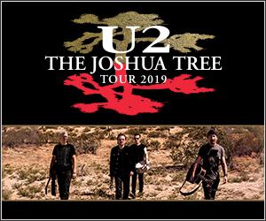 TOURING ANNOUNCEMENT   U2: THE JOSHUA TREE TOUR 2019