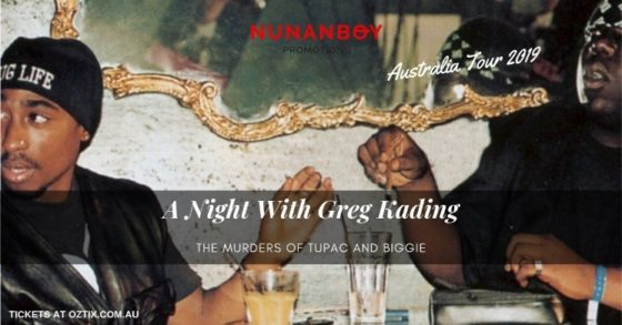 Touring The Murders of Tupac and Biggie – A night with Greg Kading
