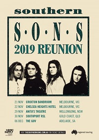 ICONIC BAND SOUTHERN SONS ANNOUNCE THEIR 2019 REUNION TOUR
