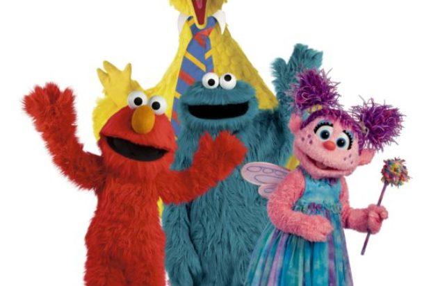 SESAME STREET CIRCUS SPECTACULAR BY SILVERS ON SALE NOW!!
