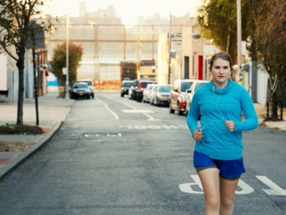 FILM REVIEW .. BRITTANY RUNS A MARATHON