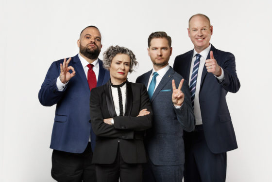 Charlie Pickering and Tom Gleeson keep the laughs coming in 2019