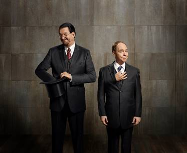 QPAC Announces Penn & Teller Rescheduled Dates