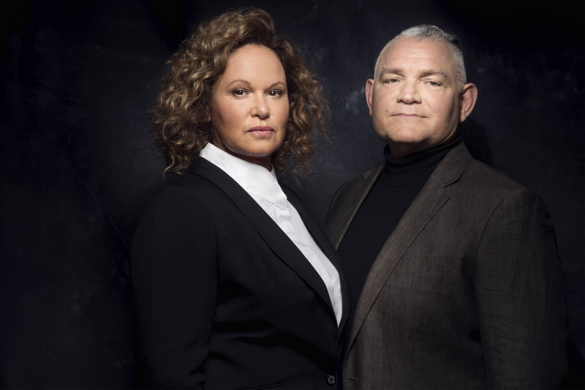 Leah Purcell and Bain Stewart behind a new initiative with Screen Queensland
