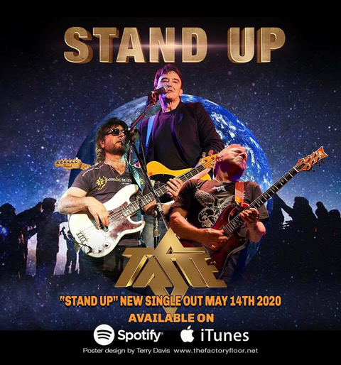 MUSIC REVIEWS… BAND TASTE NEW RELEASE STAND UP