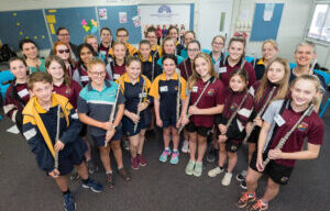Queensland Symphony Orchestra partnership with Yurika takes music to students across the state