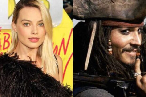 MARGOT ROBBIE NEWS OF LEAD IN PIRATES OF THE CARIBBEAN