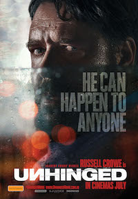 FILM NEWS RELEASE .. UNHINGED WITH RUSSELL CROWE