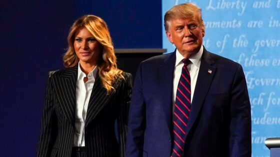 NOT FAKE NEWS ..TRUMP AND WIFE MELANIA HAVE COVID19