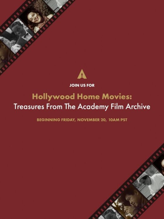 HOLLYWOOD THE ACADEMY  LOOKS AT OLD FILM TREASURES IN FILM ARCHIVE