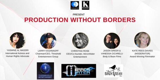 PRODUCTION WITHOUT BORDERS 2020 SET TO GO NOVEMBER 10TH