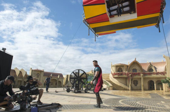 Gold Coast Scores Netflix Sci Fi Feature thanks  to Chris Hemsworth